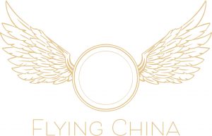 Flying China Wedding Rentals Logo